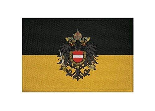U24 Aufnäher Österreich-Ungarn Fahne Flagge Aufbügler Patch 9 x 6 cm