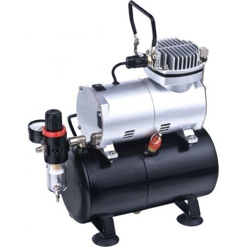 Mini compressore portatile serbatoio 3litri TC-20T aerografo verniciatura auto