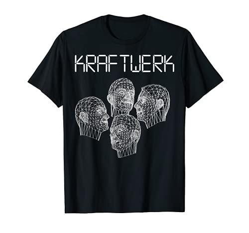 Kraftwerk Computer World Grid Heads T-shirt for Men, Women. S to 3XL