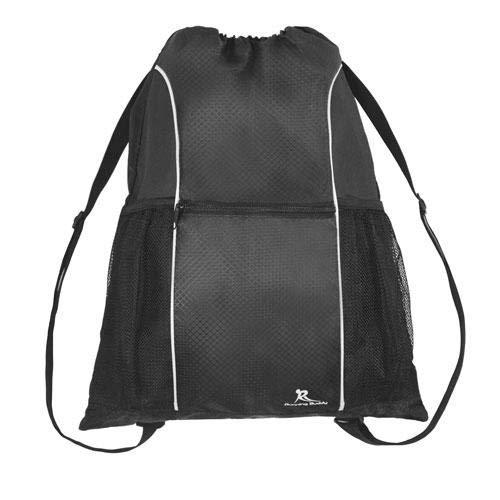 Mochila de gimnasio con cordón resistente al agua para hombres y mujeres, mochila deportiva para gimnasio, mini mochila de viaje