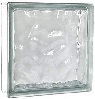 vetromattone ondulado Claro Transparente 19x 19x