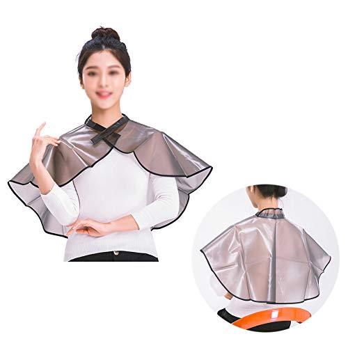 Kappers-omhang kapperssjaal verdikking kapsalon speciale kapper doek professionele hete kleuren waterdichte sjaal, lila