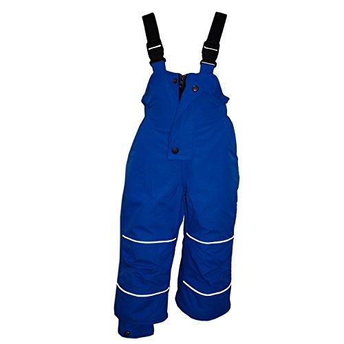 Outburst - Skihose Schneehose Mädchen Wasserdicht 10.000 mm Wassersäule, blau - 122blau