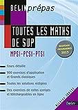 Toutes les maths de SUP - MPSI-PCSI-PTSI