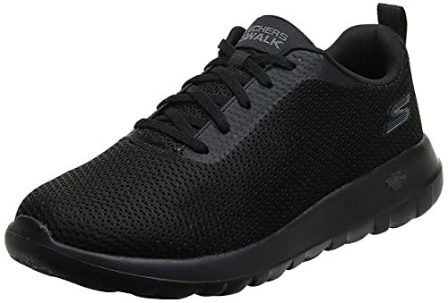 Skechers Performance Go Walk MAX-Effort, Zapatillas Deportivas Hombre, Negro (BBK Black Textile/Trim), 42.5 EU