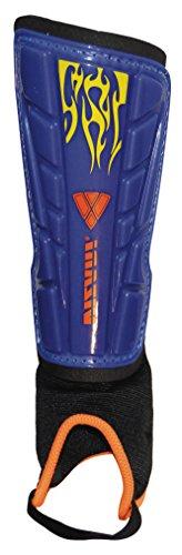 Vizari Blaze Shin Guard, Blue/Orange, XX-Small