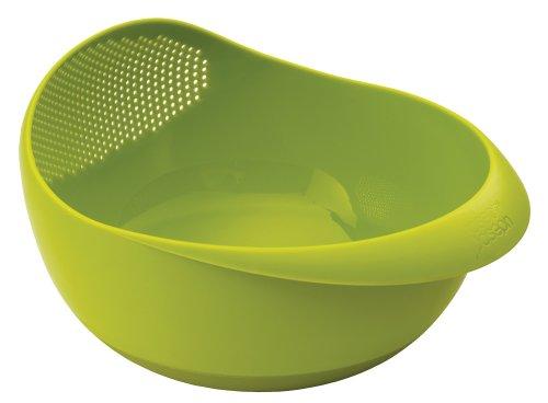 Joseph Joseph Prep&Serve - Multifunktionsschüssel mit integriertem Durchschlag, groß - grün