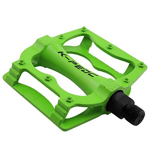 Sport Per Utral Sigillato Pedali Bicicletta CNC Corpo in Alluminio per MTB Strada Bicicletta Pedale, Verde