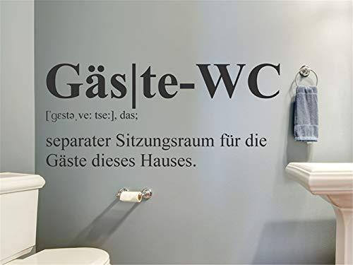 Wohnzimmer Wandtattoo Gäste-WC Definition Wohnzimmer Schlafzimmer Aufkleber