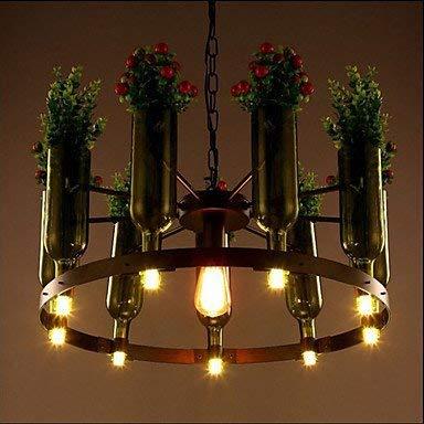 Moderne Kroonluchters Plafond Lights Hanger Fles Lampen Mode Cafe Thee Pot Planten Glas Kroonluchter 3C ce Fcc Rohs voor Woonkamer Slaapkamer
