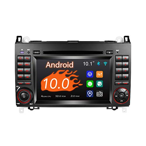 Amaseaudio Android 10 Autoradio, 2 Din für Benz W169 W245 W906, 7