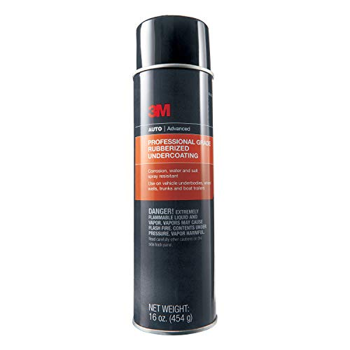 3M Professional Grade Rubberized Undercoating, 03584, 16 oz
