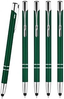 WPRO Stylosa - 5-er Set - Eingabe-Stift & Kugelschreiber 2in1 - Tablet & Smartphone dünne Touch-screen Stylus-Pen Spitze