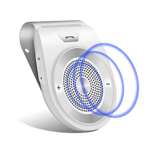 【人気のモデル】 NETVIP 車載 ワイヤレススピーカー ポータブルスピーカーハンズフリーキット 通話 音楽再...