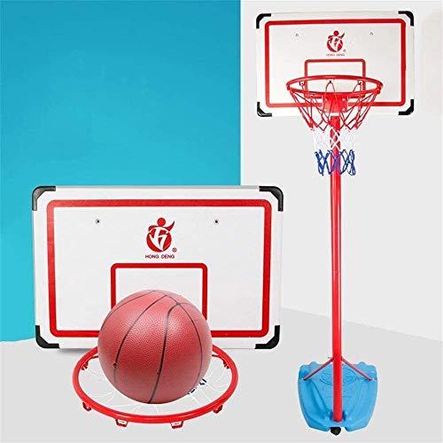 SONGYU-Basketball-Ständer Höhenverstellbarer 120-300cm Basketballkorb Basketballständer Mit Rädern Mit Kugel, Standard Rebounds, 70x46cm Basketballkorb