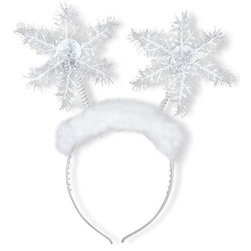 Widmann ? Serre-tête flocon de neige Womens, blanc, Taille unique, vd-wdm05680