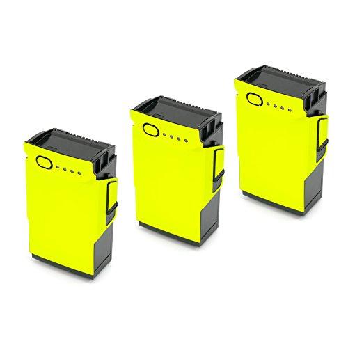 WRAPGRADE Skin Compatible con dji Mavic Air | 3 Baterías (Neon Yellow)