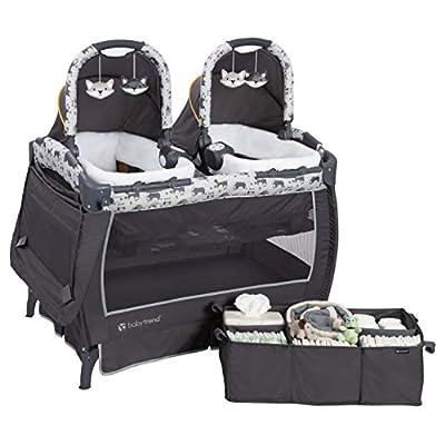 Baby Trend Twins Nursery Center, Goodnight Forest