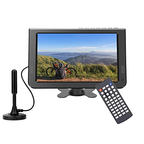 "Portable tv 10.6"" inch Digital ATSC+NTSC for AV in"