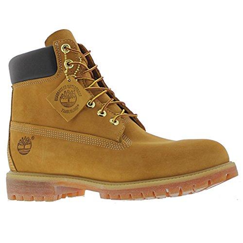 Price comparison product image Timberland 6 Inch Premium Men's Boots Wheat Nubuck tb010061 (11 D(M) US)