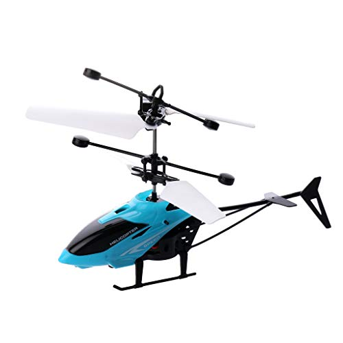 One76 RC Helicopter Flying Toys, Hand Infrared Induction Hover RC Helicopter with Remote Control, Plane Flying Toys with LED Light, Infrared Induction Drone for Kids Boys Girls Indoor Games