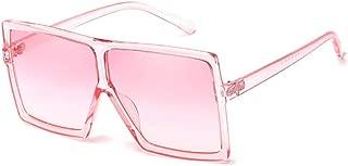 Oversized Square Sunglasses for Women Men Flat Top Shades Sunglasses