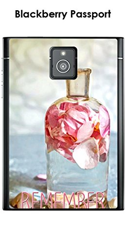 Onozo Carcasa Blackberry Passport Design Perfume Rosa Remeber