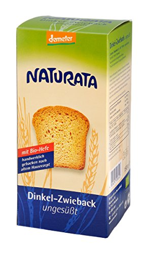 Naturata Bio Dinkel-Zwieback, ungesüßt (1 x 150 gr)