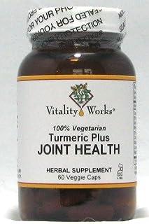 Turmeric Plus Joint Health Vitality Works 60 Caps