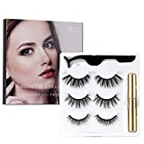 JDO Magnetic Eyelashes with Magnetic Eyeliner 3 Styles False Lashes