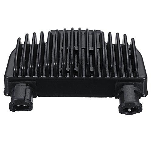 Alamor Redresseur de régulateur de tension noir pour Harley Dyna 08-14 74631-08 40A triphasé