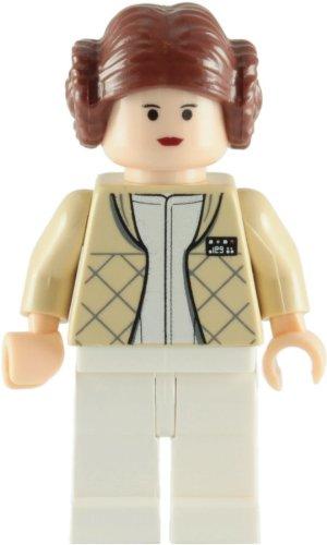 LEGO Star Wars: Minifigur Prinzessin Leia mit Hoth Kleidung