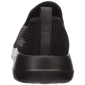 Skechers mens Go Walk Max-Athletic Air Mesh Slip on Walking Shoe,Black,10 EEE US