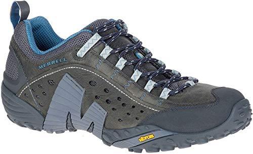 Merrell Intercept J598667 de Marche de Randonnée Baskets Chaussures pour Hommes (Granite, Numeric_46)