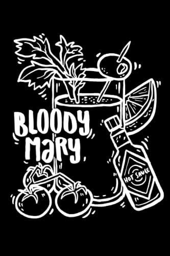 Bloody Mary: Notizbuch (120 Seiten,...