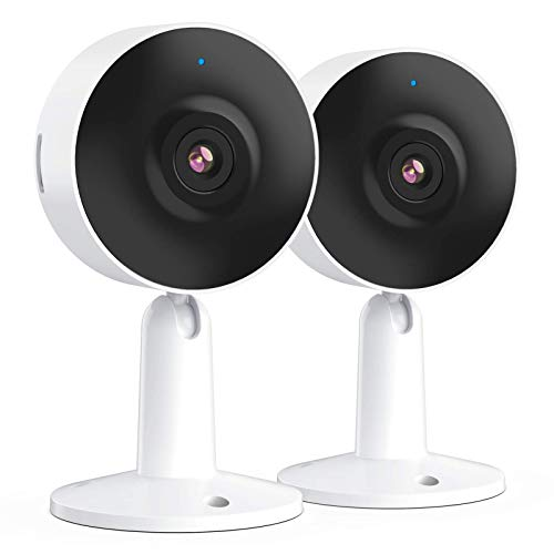 Arenti Überwachungskamera für Innen – IN1 WLAN Indoor IP-Kamera mit Smartphone App, 1080p HD, 2-Wege-Audio, Nachtsicht, kompatibel mit Alexa, Google, 2-Pack