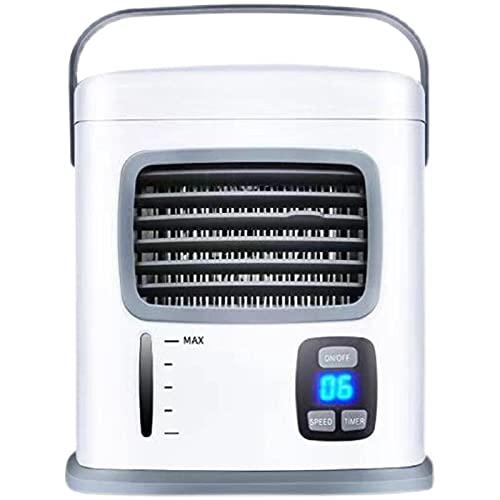 2021 mini aire acondicionado ventilador refrigeración USB pequeño ventilador escritorio mudo estudiante dormitorio oficina humidificación refrigeración agua ventilador