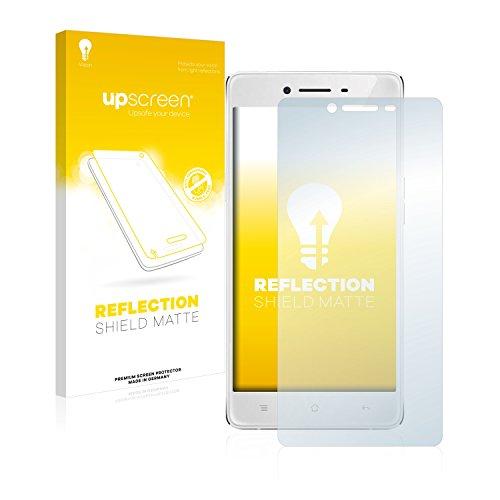 upscreen Entspiegelungs-Schutzfolie kompatibel mit Oppo R7 Lite – Anti-Reflex Bildschirmschutz-Folie Matt