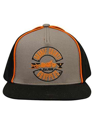OCC Orange County Choppers Cap Acrylic Snapback OCC Paul Senior Black