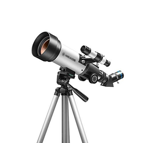 Teleskop-Teleskope für die Astronomie Professionelle Stargazing-Teleskop-Monokulare HD-Brechendes Teleskop Brechendes Monokularteleskop für Erwachsene Kinder ( Color : BLUE , Size : 46.5*29.4*15.2CM )