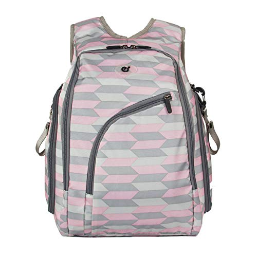 Product Image of the ECOSUSI Diaper Backpack Fully-opened Baby Diaper Bag Travel Nappy Bag with...