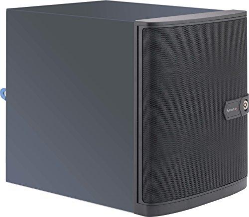 Supermicro CSE-721TQ-250B Carcasa de Ordenador Mini-Tower Negro 250 W - Caja de Ordenador (Mini-Tower, Servidor, Mini-ITX, Negro, 250 W, 2.5,3.5