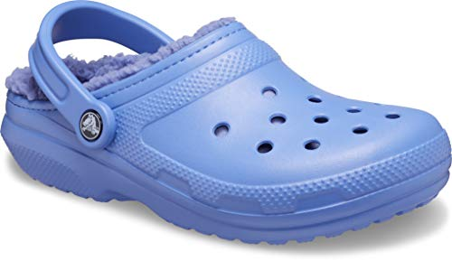 Crocs Classic Lined Clog, Zuecos Unisex Adulto, Azul (Lapis/ Lapis), 37/38