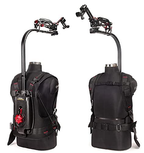 FLYCAM Flowline Master Body Support Chaleco+brazo estabilizador de 2 ejes para cardanes Ronin Movi de 3 ejes y montaje directo de videocámaras|para cámara Nikon RED Sony(4-12 kg)(FLCM-FLN-MSTR-PLA)