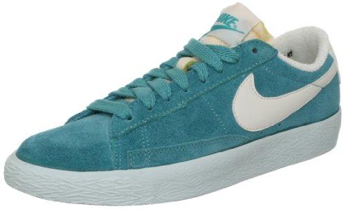 Nike Wmns Blazer Low Suede VNTG 517371-300 Celeste - Sneaker Bassa Donna (41 EU)