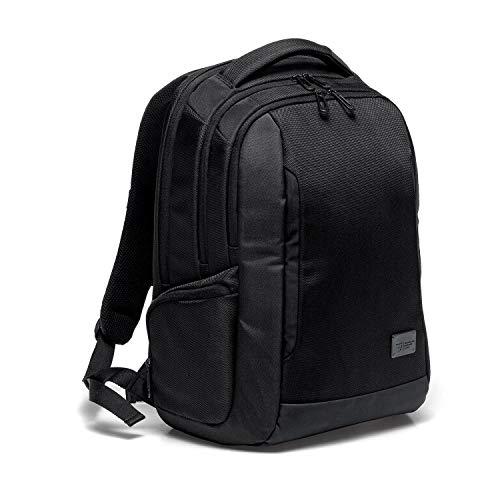 """RONCATO Desk mochila para portátil 15.6"""" negro, medida: 45 x 35 x 19 cm, compartimentos interiores para la organización interna de todas tus cosas"""