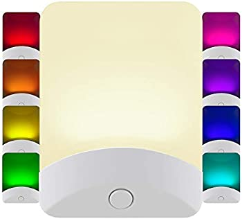 GE Plug-in Color-Changing LED Night Light