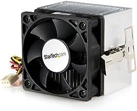 StarTech.com Ventilador para CPU Socket A 60x65mm con Disipador de Calor para AMD Duron o Athlon - Ventilador de PC (Procesador, Enfriador, 6 cm, Socket 370, Intel® Pentium® III, 4500 RPM)