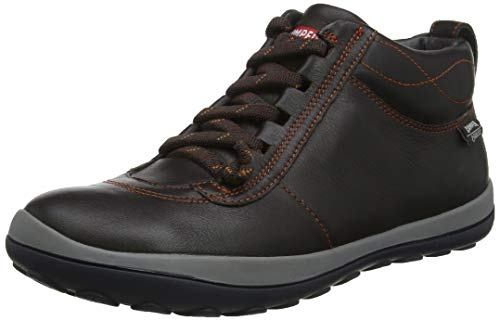 CAMPER Damen Peu Hohe Sneaker, Braun (Dark Brown 200), 41 EU