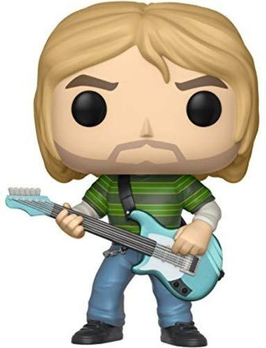 Funko Pop!- Nirvana Rocks Kurt Cobain (Teen Spirit) Figurina de Vinilo, Multicolor, Estándar (24777)